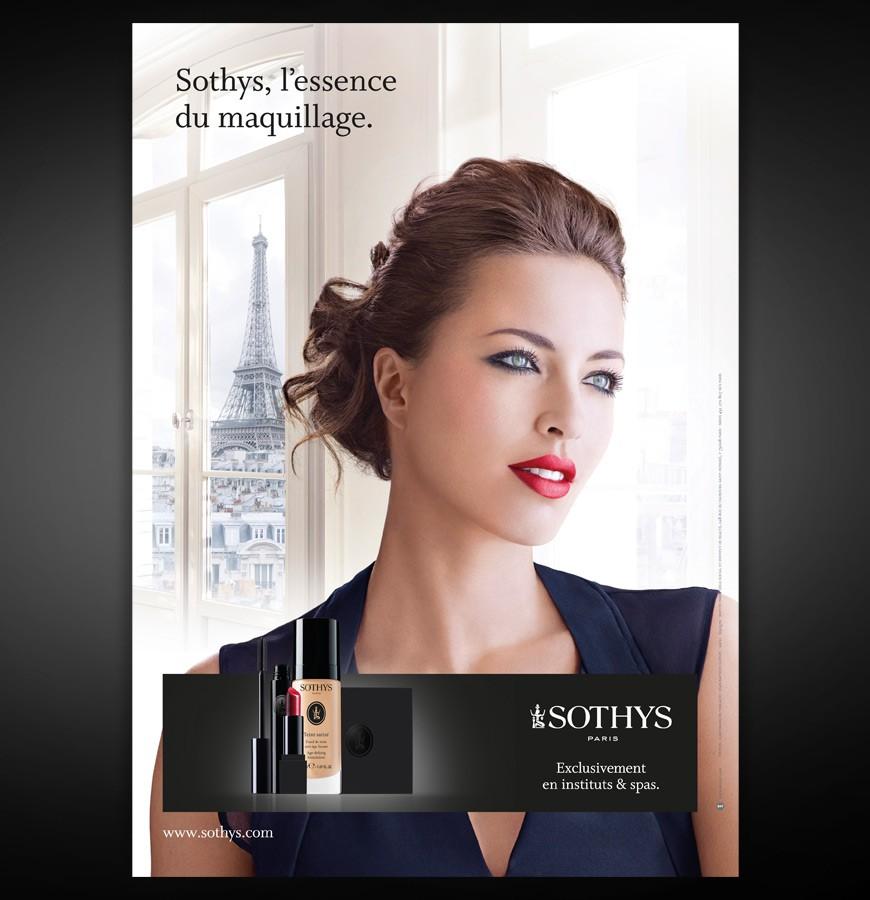 Annonce presse Essence du Maquillage Sothys