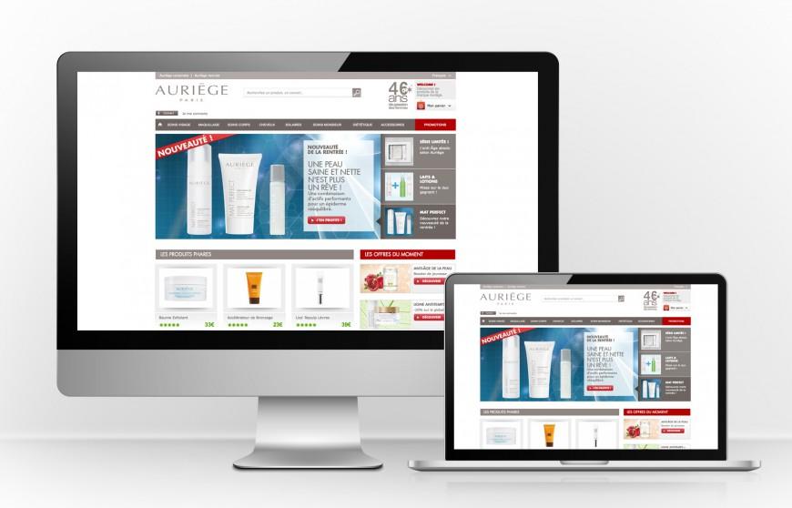 Site internet e-commerce CMS Magento