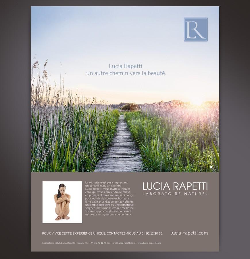 Annonce presse institutionnelle Lucia Rapetti