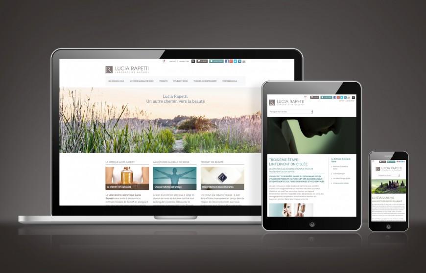 Site internet Responsive CMS WordPress