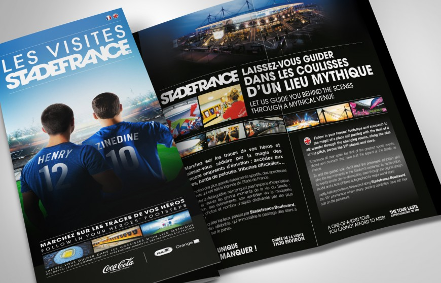 Leaflet Les visites Stade de France