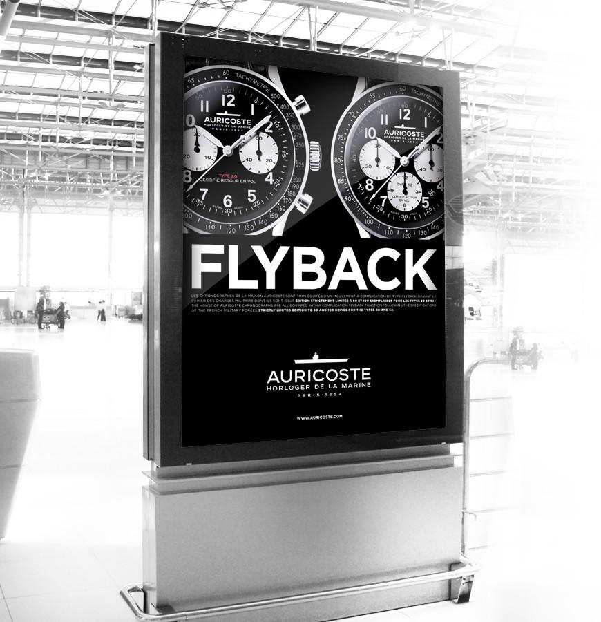 Affichage Flyback Auricoste