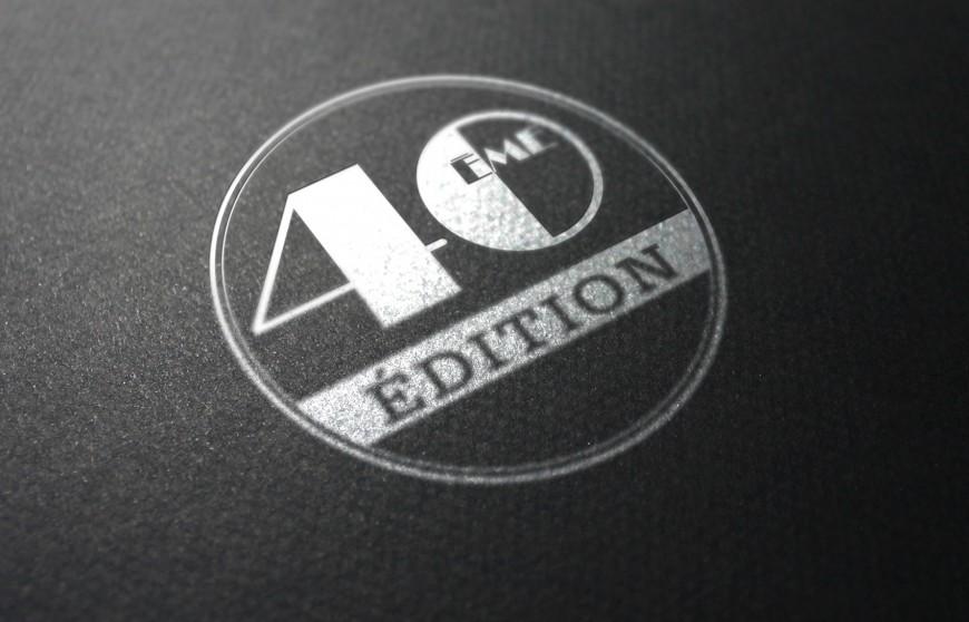 Logotype événementiel Retromobile 40e édition