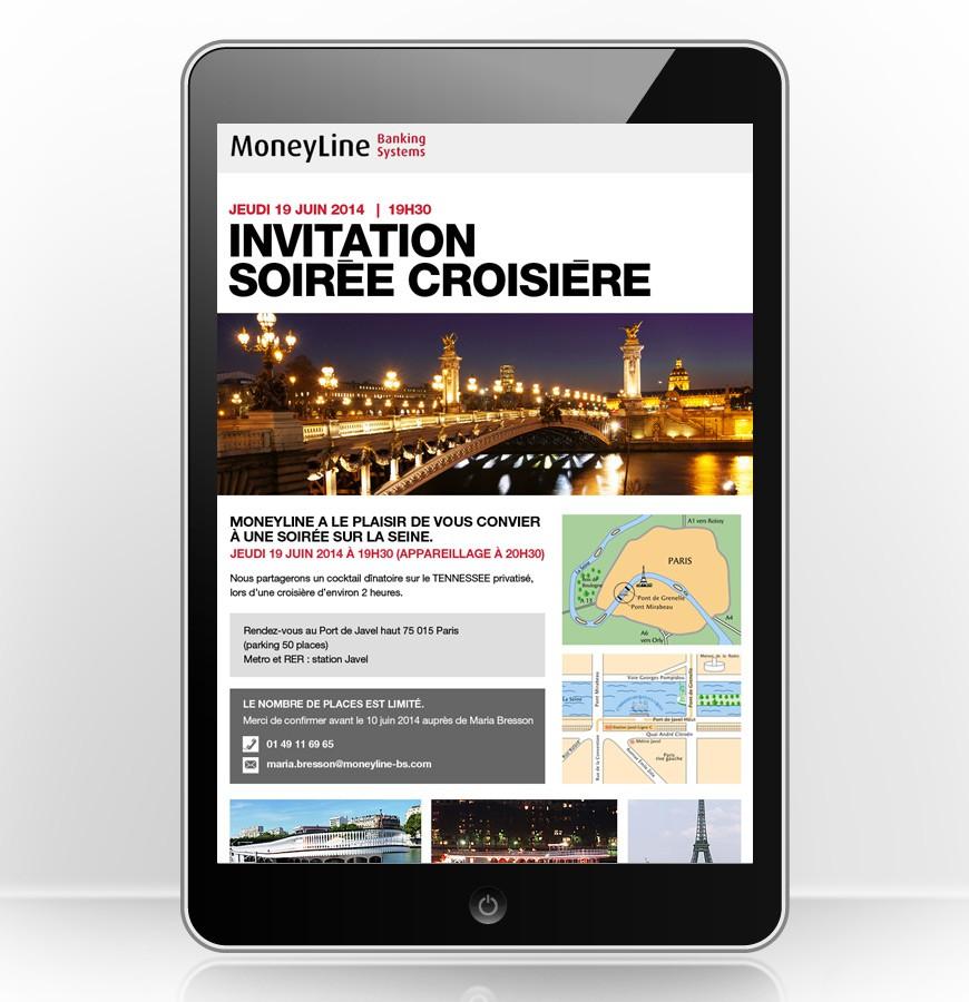 E-mailing invitation Moneyline