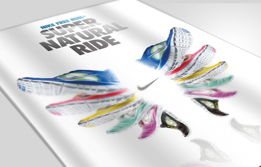 Nike Free Run+ leaflet