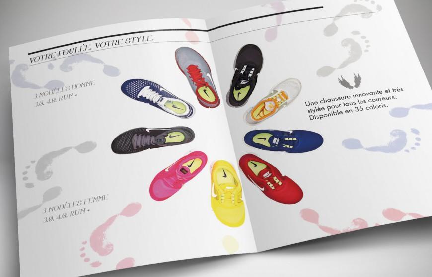 Nike Free Run+ leaflet intérieur