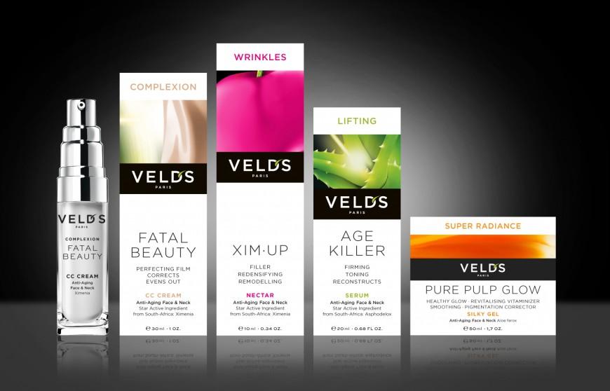 Création de la nouvelle ligne packaging Veld's