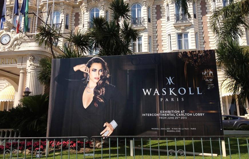 Annonce boutique éphémère Carlton Cannes